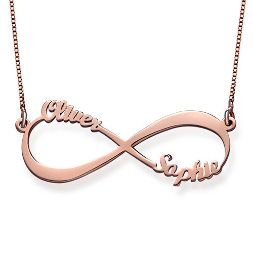 Infinity Up to 6 Names Necklace